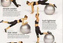 Booty workouts / by Jennifer McRoy Lowder
