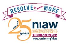 Resolve / National Infertility Awareness Association- http://www.resolve.org/  / by Candace Wohl