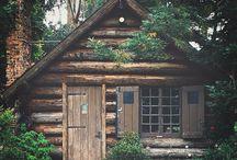^^ cabin ^^ / by Meghan Croft