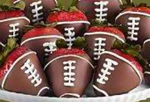 Football treat bags / by Cassidy Green