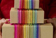 Gift Wrap Ideas / by Hazel Q