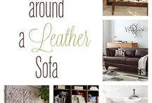 Leather furniture decoration styles / by Cherie Staples