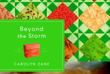 Beyond the Storm by Carolyn Zane / When tragedy strikes a community, lives - and hearts - are changed forever. / by Quilts of Love Fiction