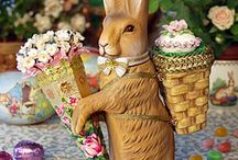 Silly RABBIT.........it's Easter! / by Lori Haun