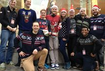 Staff & their Christmas Knitwear! / Our staff are feeling festive on Christmas Eve and are revealing an awesome collection of Christmas knitwear! / by Ellis Brigham Mountain Sports