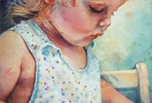 Watercolor Portraits / by Sammie Justesen