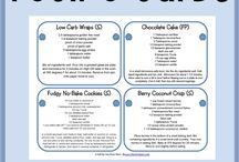 THM Beginner / Low carb, Trim Healthy Mama and no sugar cooking ideas.   / by Annett Everett Davidson