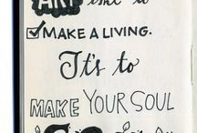 Art Journalling / by Erica Wheadon