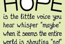 hope & joy. / by Savanna Ziegler