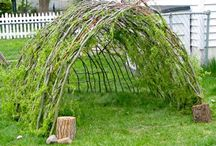 Charming Outdoor Play Spaces for Kids  / by The Crafty Crow