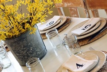 Table Settings / by Denise Kolp