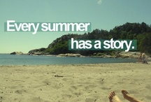 SuMmEr! / by Hannah Anderson
