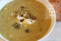 warm soups that fills your belly / by Jackie Counter