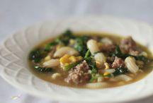 Soups / by Jennifer Tarr-Tavani