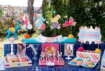 circus party / by Amy {fun-baby-shower-ideas.com}