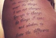 Tattoos  / by Elena Fernanders