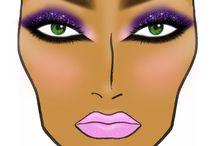 Makeup / by Rosalind Sample-Mosley