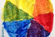 Mixing it up with Colors / Color theory for kids - in activities! / by Jamie Reimer