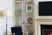 Built-Ins + Shelves / by Chanee Vijay
