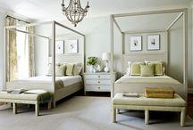 sleep . bedrooms / by Carolyn English