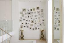wall groupings / by Deb Rosenbury