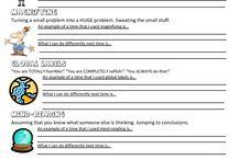 Worksheets for clients / by Meg Ingram