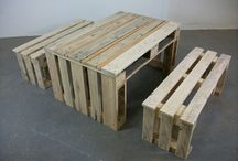 Pallet Furniture / by Stephanie Moore