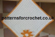 Free Home Decor Crochet Patterns / There are more FREE patterns on my website:-