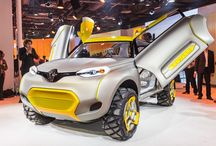 New Delhi motor show - Renault Kwid concept car / The 11th New Delhi Auto Expo opened its doors yesterday for a week. Let's have a look at the models exposed this year on the Renault stand.  / by Renault Official