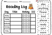 First grade / School time / by Christina Angela