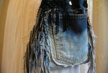 Clothes: Altered / Crafty art clothing ideas & DIYs / by Jill Kaber-Bartlett