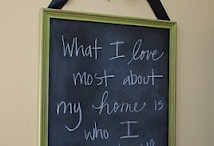 Chalk boards / by YourSiteNeedsMe