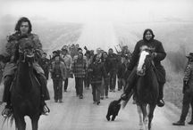 Wounded Knee: Then and Now/ A.I.M. / by Lilhawksmema