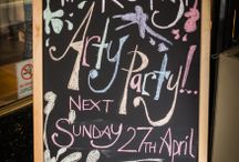 Arty Party - April 14 / by The Dressing Room Boutique