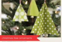 Christmas tree ornaments / by Amy Frothingham