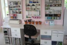 craft room ideas / by Christy Topp