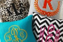 monogram lovely's / by Katie Moll