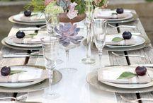 Table settings / by Debbie Petras