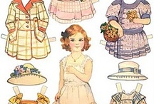Paper dolls and toys / by Sheila Mace