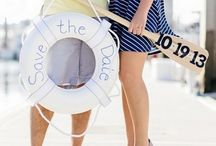 Nautical Theme Wedding / Are you a nauti bride looking for inspiring pins for your wedding? Then you've come to the right board. Find creative and unique pins for your wedding on our Nautical Theme Wedding inspiration board!  / by Bridal Party Tees
