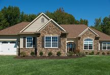 The Medina McAllister / View photos of our fully furnished Akron-Medina McAllister Model! / by Wayne Homes