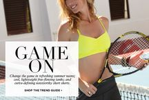 TREND GUIDE: GAME ON / by BEYOND YOGA