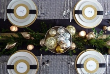 Black & Gold Holiday Decor / by Inspired Decor