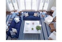 Clean Classic and Victoria / architecturally crisp, beachy clean, blue and white / by Hillary Taylor