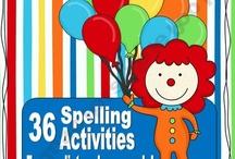 Spelling / by Ashleigh Yocom