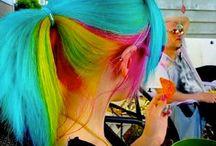 Rainbow Hair / by Allison Matus