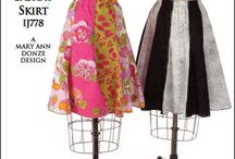 Skirt patterns / by Wendy Mikson