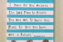 Bible verses / by Lacy Vaughn