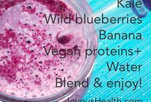 Smoothies for joyous health / These are some of my favourite smoothies. Not only do they taste good, but they are bursting with nutrients to create joyous health! / by Joy McCarthy - joyous health
