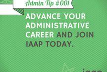 IAAP Admin Tips / Helpful #admintips from IAAP! / by IAAP